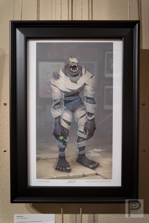 "Framed ""Mummy"""