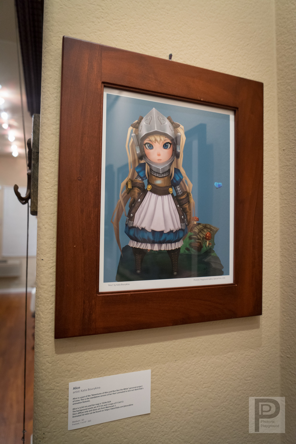 "Framed ""Alice"""