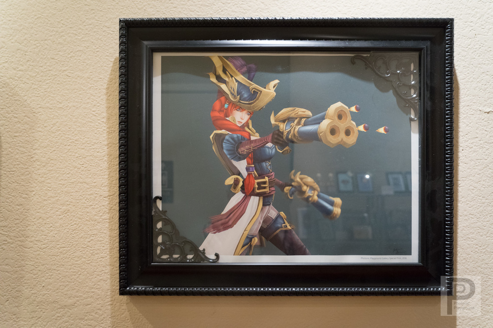 "Framed ""Captain Fortune"""