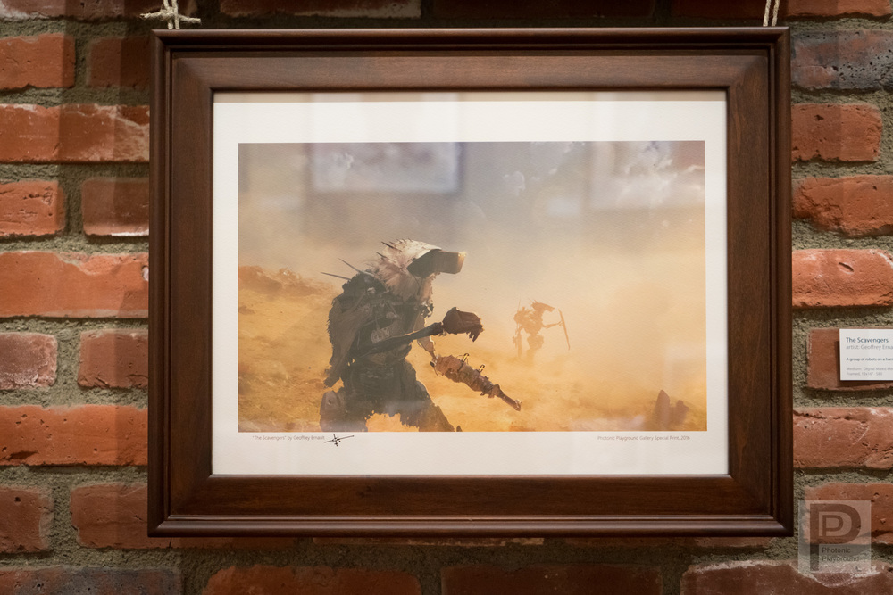 """Framed """"The Scavenger"""""""