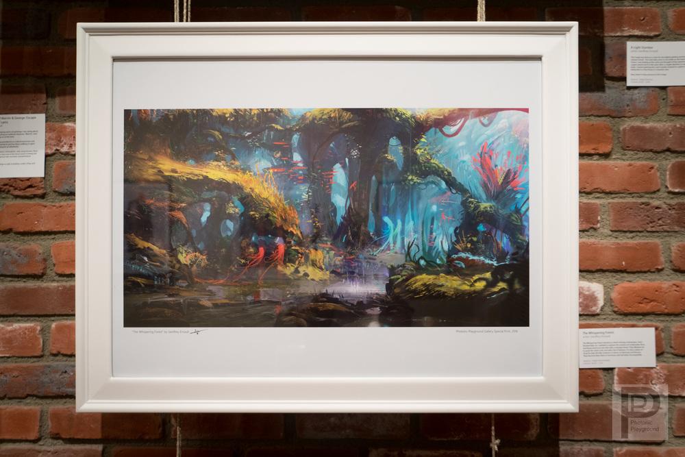 """Framed """"The Whispering Forest"""""""