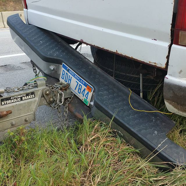 What happens when #uhaul says you don't need a new hitch and hooks up trailer for you #lawsuit