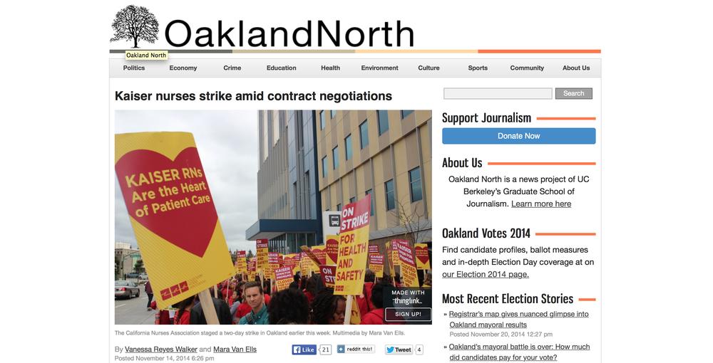 Kaiser nurses strike amid contract negotiations