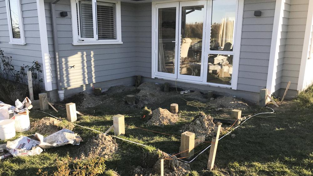 Deck Foundation Piles
