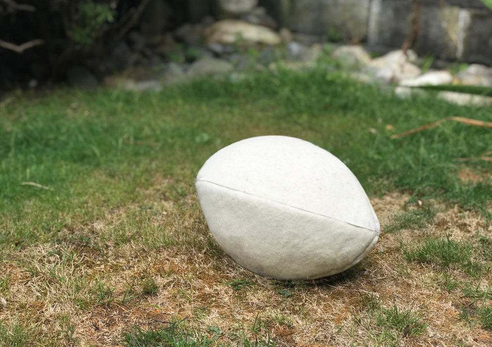 Wool Rugby Ball Papertowns