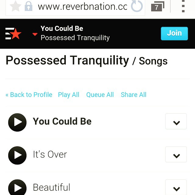 3 new songs up on Reverbnation! Give them a listen over the weekend #possessedtranquility #PT #electronic #rock #alternative #music #reverbnation