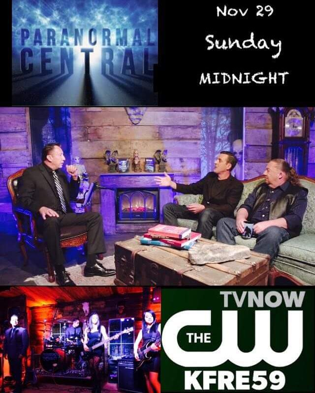 We will be on air in a couple of weeks as the house band. Make sure to watch #ParanormalCentral