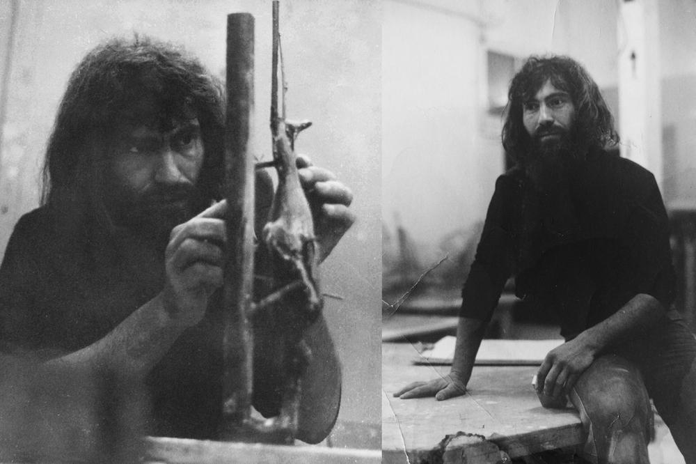 Sonny Dalimore in studio