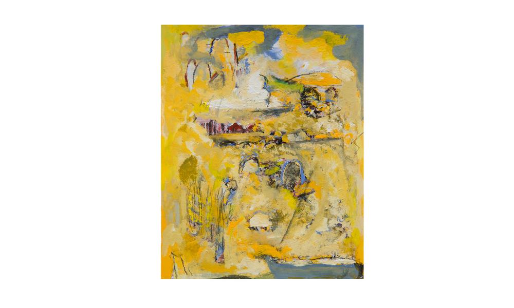 Claypans, 2015 • gouache on paper • (h)225mm x (w)180mm
