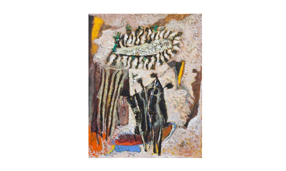 Emily & jessie gap, 2014 • gouache on paper • (h)240mm x (w)187mm
