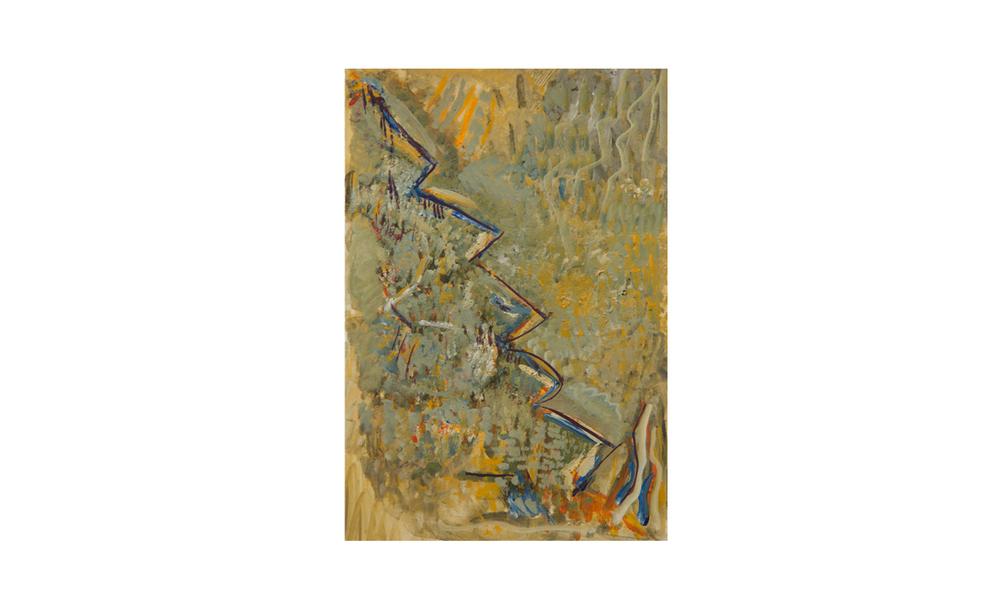 Macdonnell Ranges, 2012 • gouache on paper • (h)191mm x (w)130mm