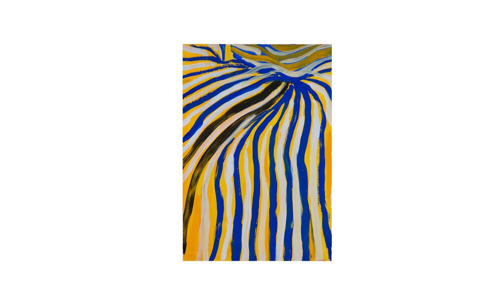 Sunrise in Alice, 2012 • gouache on paper • (h)192mm x (w)133mm