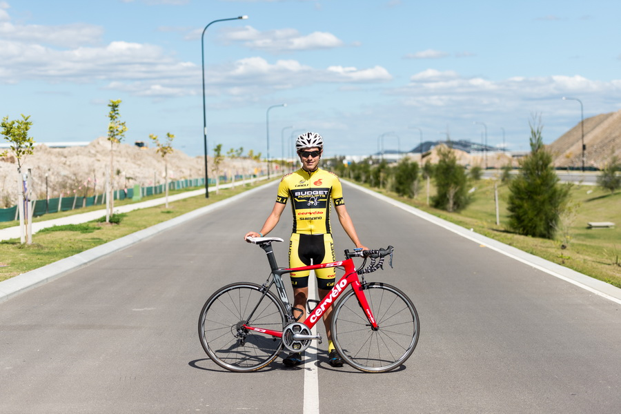 Josh Prete (Budget Forklifts Professional Cycling Team)  Photo: PhotoCo