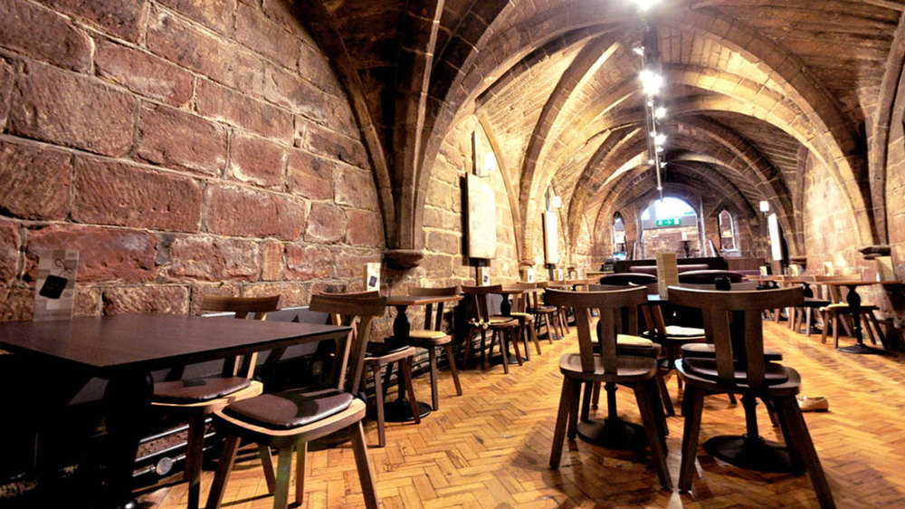 The Crypt   The Tea Press & Browns Of Chester