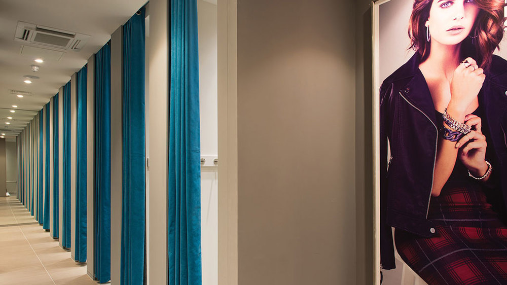 Arcadia retail soft furnishings by HF Contracts.