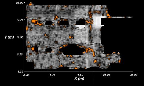 ground radar image