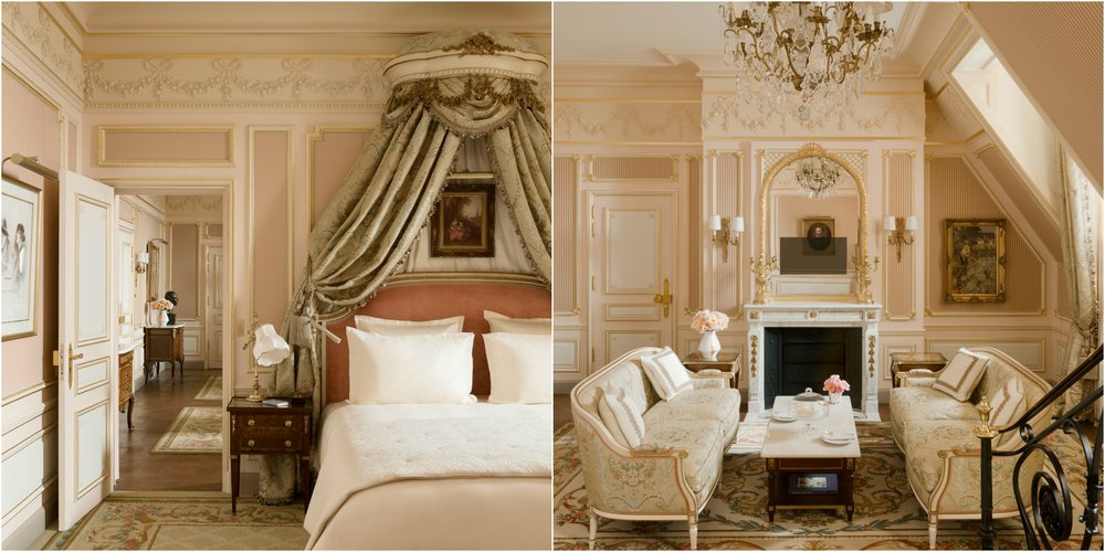 The restored Cesar Ritz Suite at the Ritz Paris. Photo Credit Suite César Ritz © Vincent Leroux