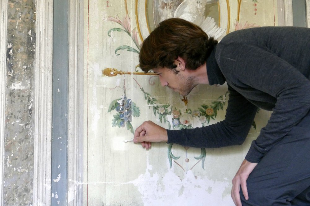 Hidden Murals and Stunning Fireplaces: Inside the Renovation of an 18th-Century French Château