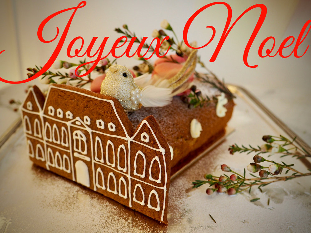 Thank you Molly for the very first Château Buche de Noël x