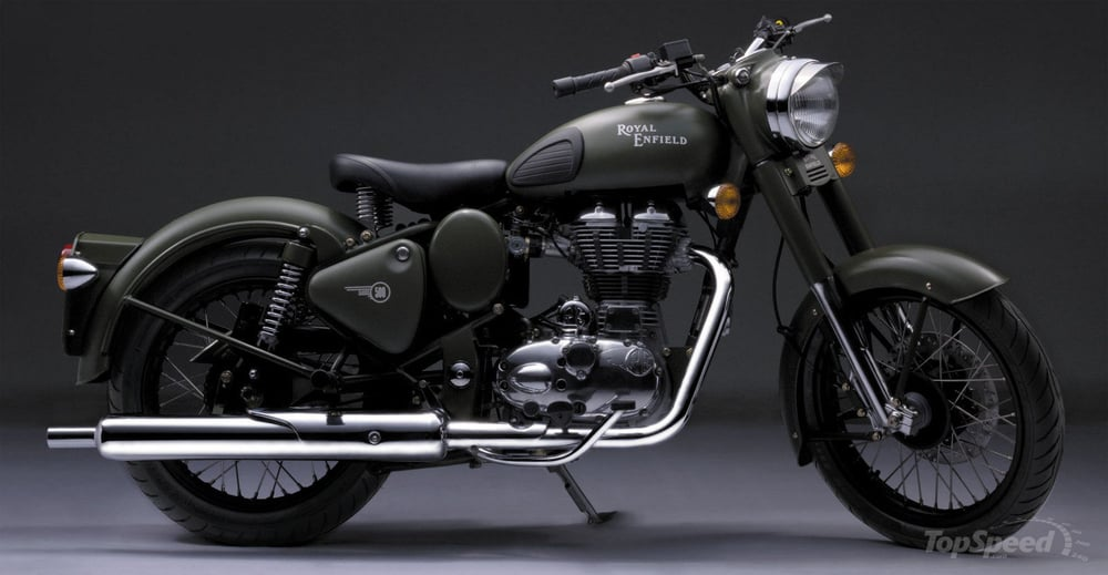 The Royal Enfield