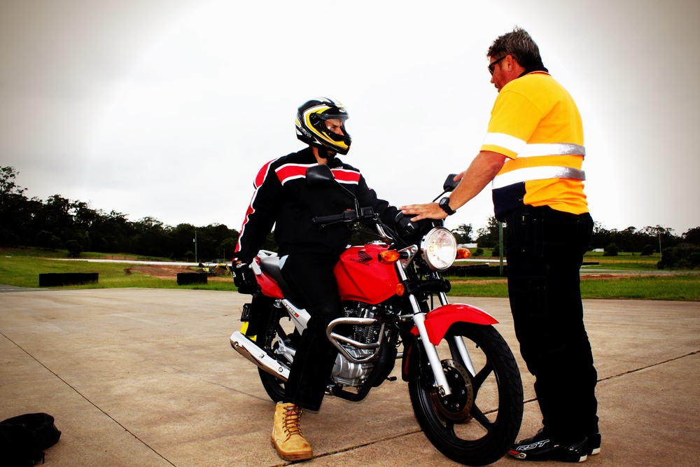 Become a motorcycle instructor and driving trainer assessor at IAN WATSON'S