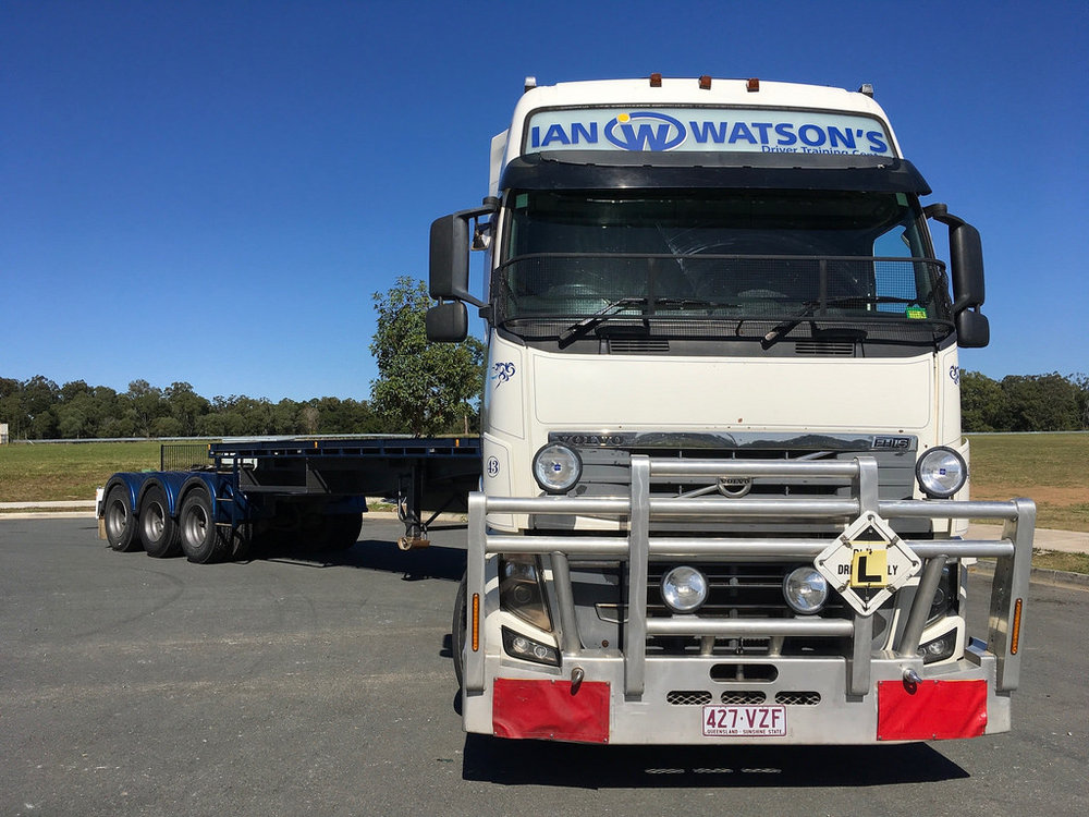 Pride of the Fleet - Ian WAtson's Truck School's VOLVO