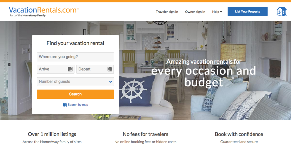 Top 10 Best Vacation Rental Websites To Advertise Your