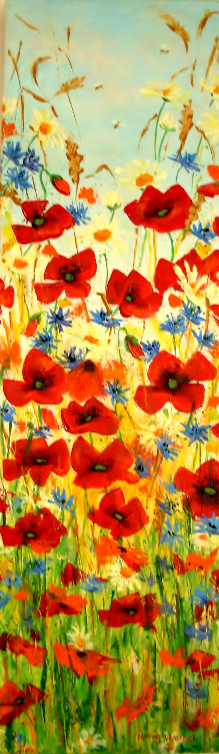 19 Poppy panel with Cornflowers.JPG