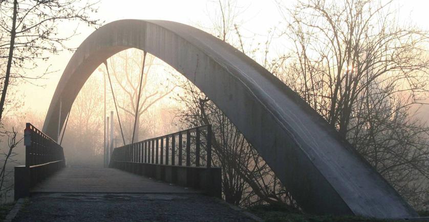 ieper: poterne bridge arch/ govaert & vanhoutte