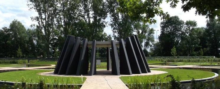 begraafplaats eernegem architect: plantec