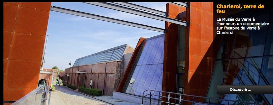 Musée du Verre de Charlero i rue du Cazier 80,  6001  Marcinelle