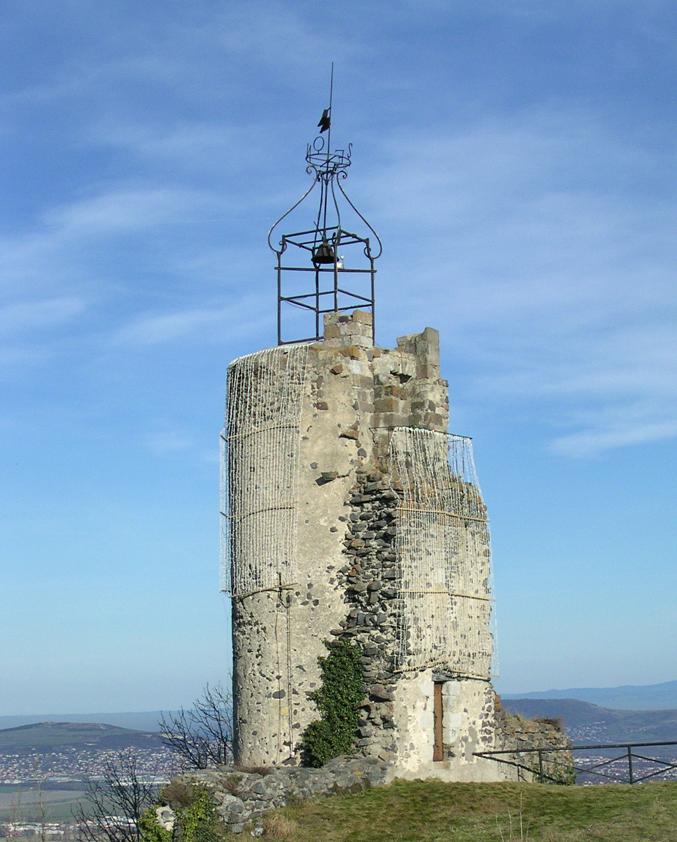 """E 3°7'43"""" / N 45°41'09"""" // LE CREST (FR): la tour de l'horloge"""