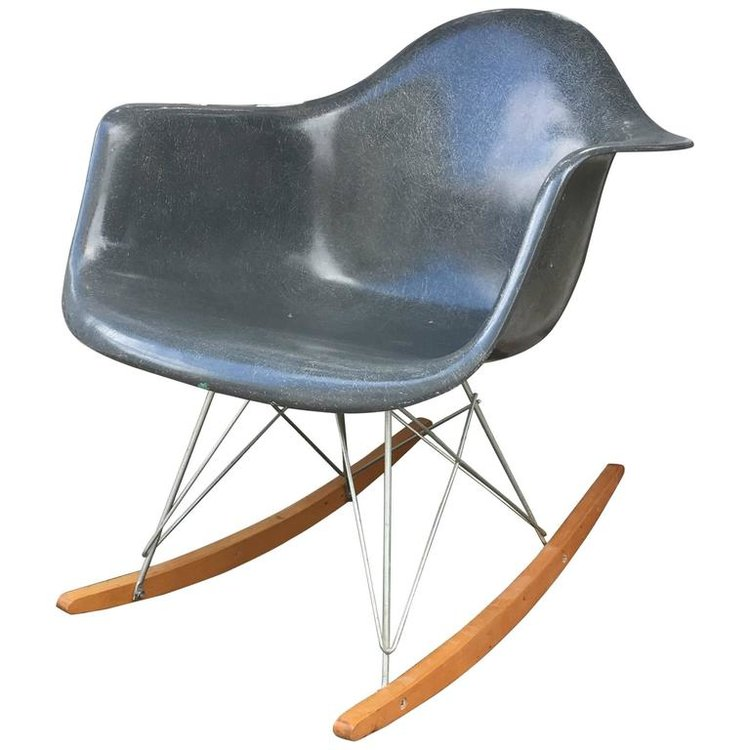 eames elephant grey rar patina nyc