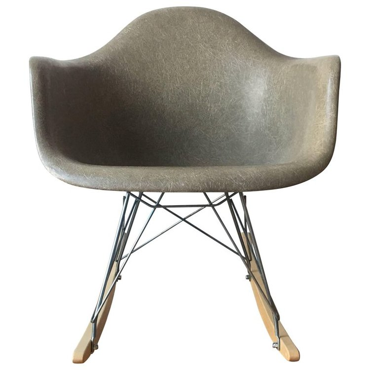 eames rar in raw umber patina nyc