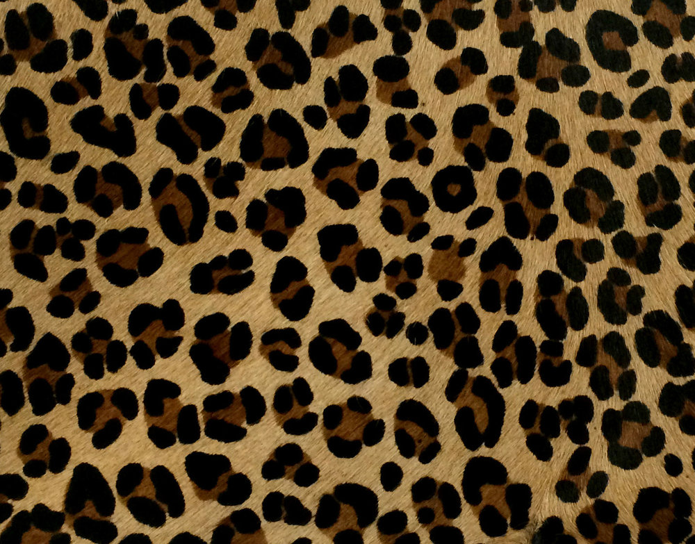 Leopard - Hair-on hide