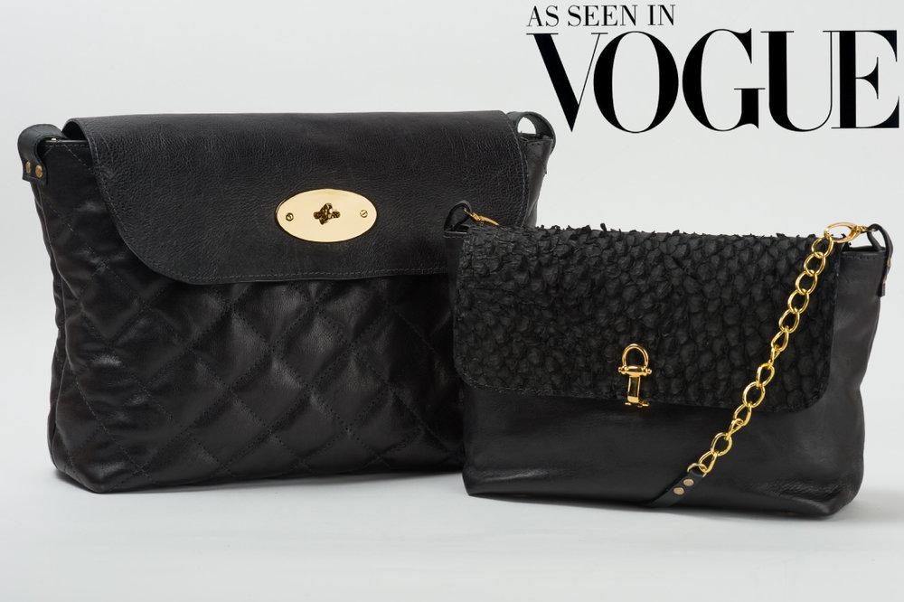 Bronagh Holmes Luxury - Arwen Quilted & Aeryn Medium in Perch - As seen in Vogue