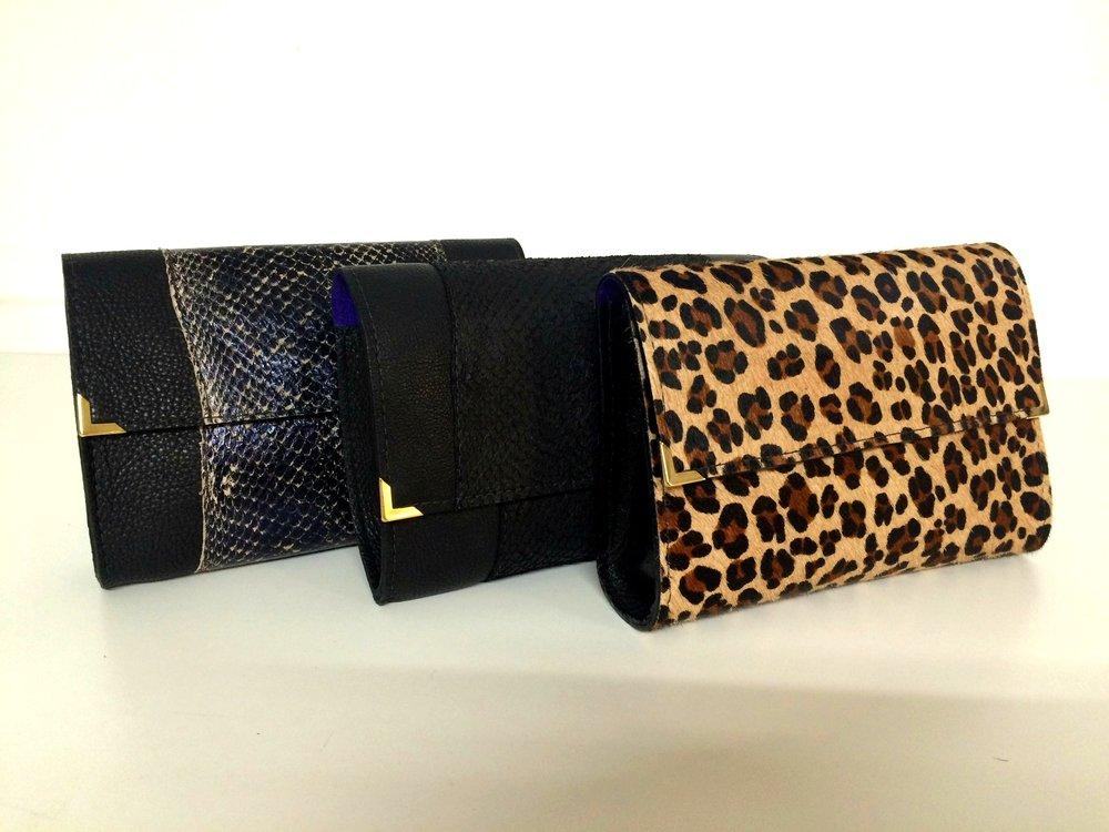 Bronagh Holmes Luxury - Avani in Snake Print, Salmon & Leopard Print