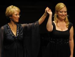 Arlene Shrut with Renée Tatum, mezzo-soprano