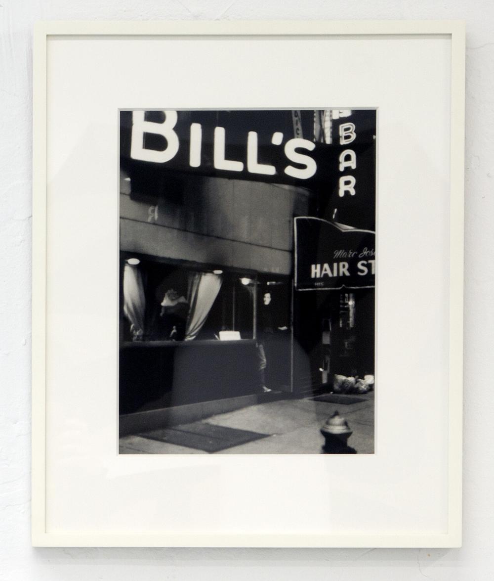 David Wojnarowicz Untitled (Bar), 1978-1979 / 2004 Silver Print 11 x 14 in.