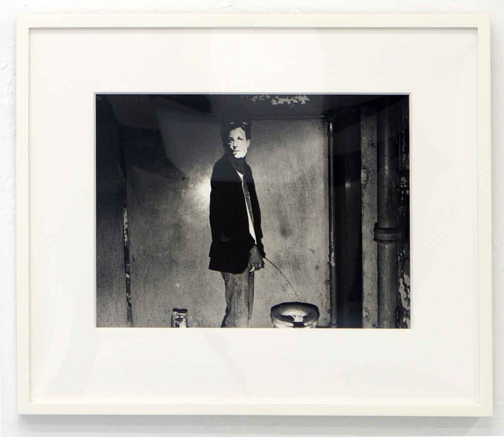 David Wojnarowicz Untitled (Pissing), 1978-1979 / 2004 Silver Print 11 x 14 in.