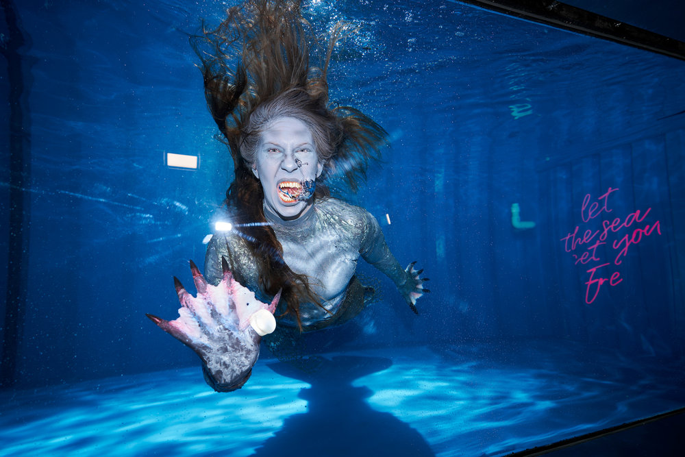 The Mermaid Museum | Freeform x Popsugar (Photo by Joe Kohen)