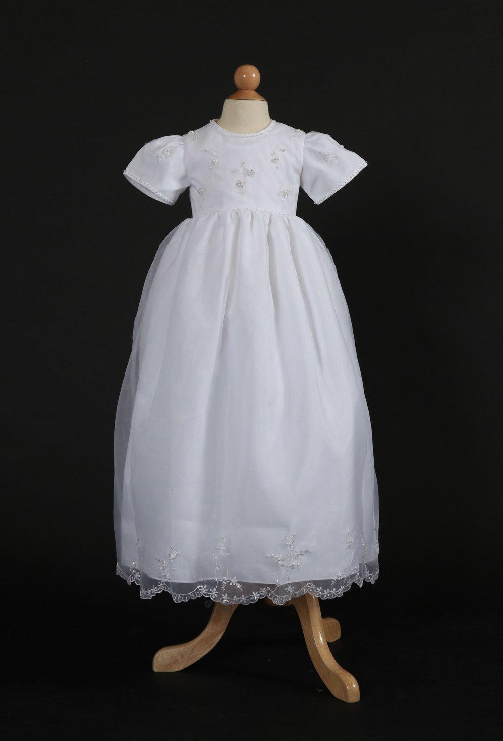 silk organza dress i340