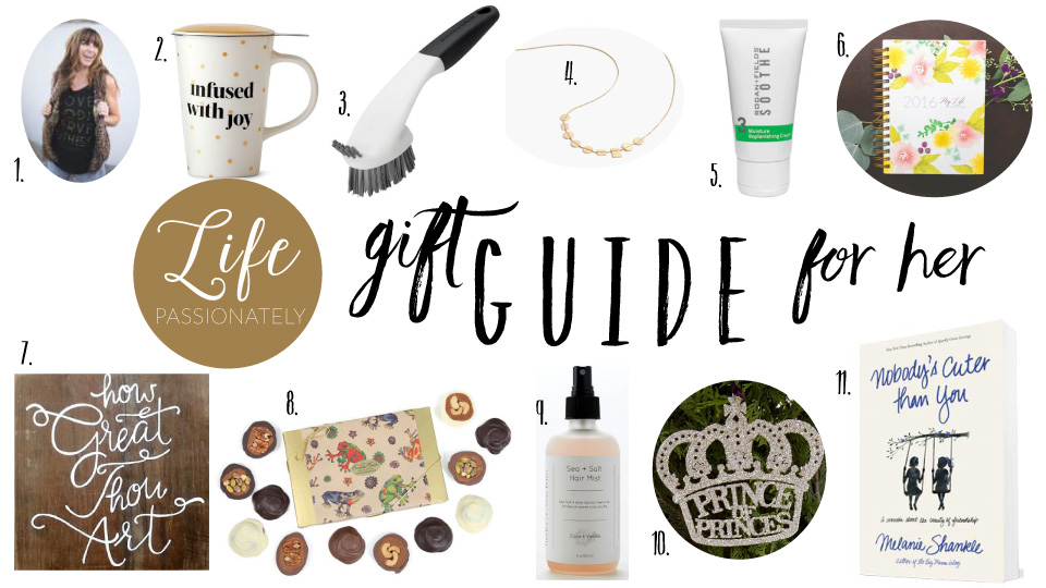 Life Passionately Gift Guide for Her