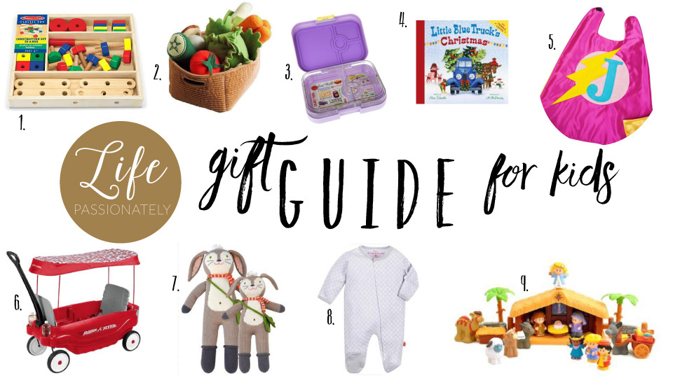 Life Passionately Gift Guide for Kids