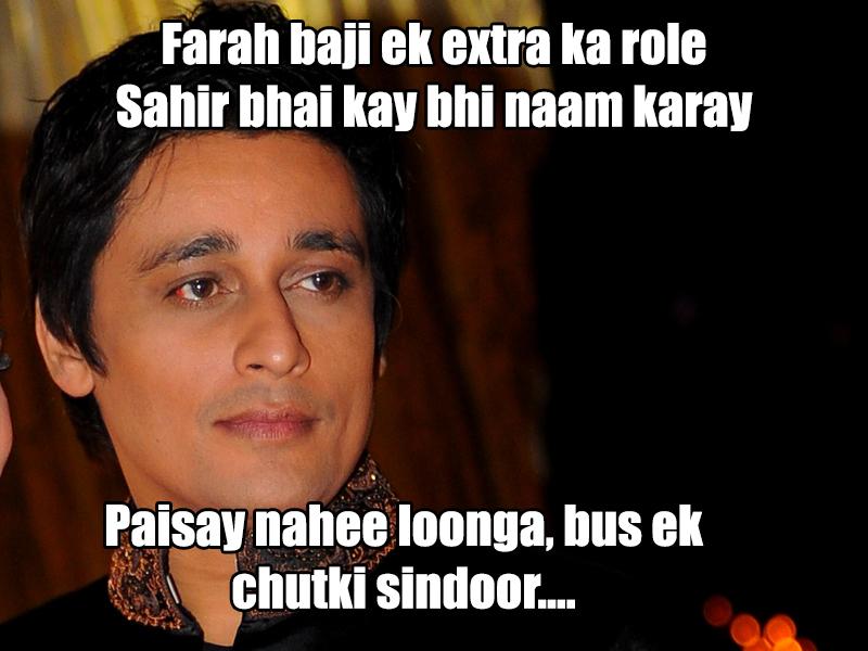 """""""Farah Khan Syed Noor ko copy karti hai:-Sahir Lodhi"""