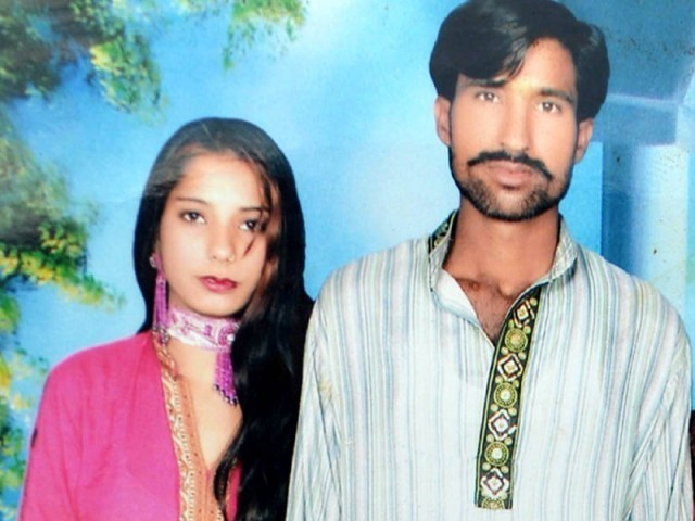 A Christian couple, Shama and Shehzad, was beaten to death and thrown into a brick kiln furnace on the grounds of blasphemy. PHOTO: EXPRESS TRIBUNE