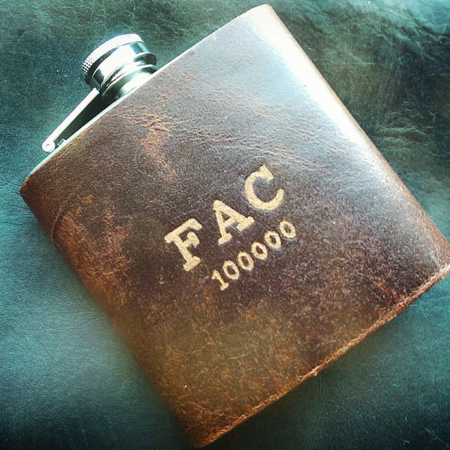 the RUST leather flask is proving popular this valentines - I'll be introducing some more shades and colours in this sturdy and antiqued style.