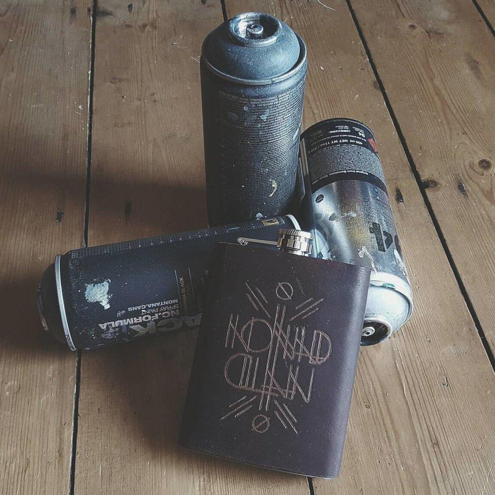 Nomad Clan Hip Flask