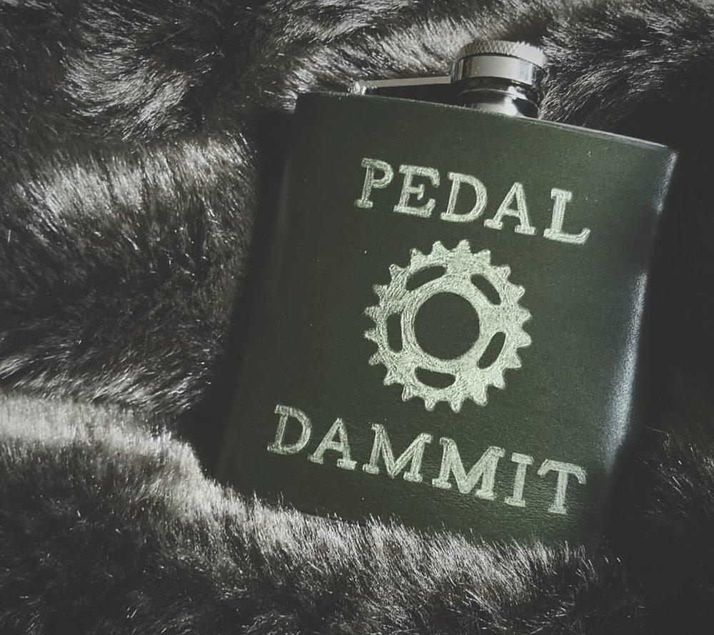 Cycling Hip Flask
