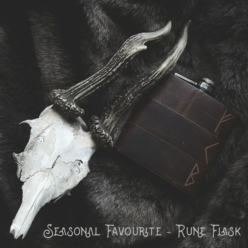 Viking Rune Flask - £35